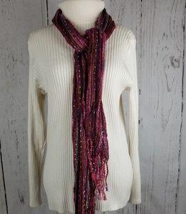 Lane Bryant Winter White Knit Sweater 14/16